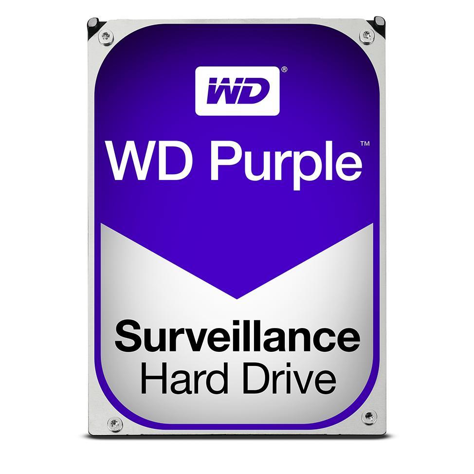 Disco Duro Interno Hdd Wd Purple Wd40purx 4tb 3.5 Pulgadas Sata3 7200rpm 64mb WD40PURX