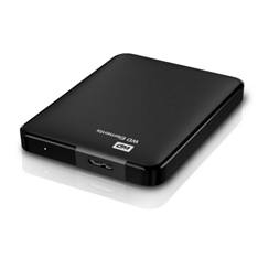 Disco Duro Externo Hdd Wd 750 Gb Elements 2.5 Pulgadas, Usb 3.0, Negro WDBUZG7500ABK