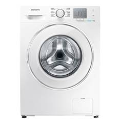 Lavadora Samsung Ecobubble 8kg 1200 Rpm A +  +  +  Blanco Cristal Touch 12 Programas WF80F5EDW2W/EC