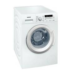 Lavadora Siemens Wm114k268ee 8kg, 1400 Rpm, A +  +  + , Blanco WM14K268EE