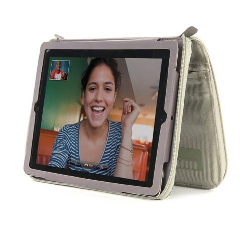 Funda Tablet Tucano Ipad Cremallera Blanco WORKINB