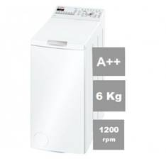 Lavadora Bosch Wot24254ee Carga Superior 6kg 1200rpm A +  +  40cm Display WOT24254EE