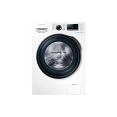 Lavadora Samsung Ww80j6410cw Ecobubble  /  8 Kg  /  Blanco  /  A +  +  +   /  1400 Rpm  /  Motor Dig
