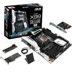 Placa Base Asus Intel X99-deluxe / u3.1 Socket 2011 Ddr4x8 2133mhz 64gb Atx X99-DELUXE/U31