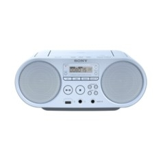 Radio Cd Mp3 Sony Zsps50l Azul Claro ZSPS50L