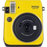 Cámara fujifilm instax mini 70 amarilla + carga 10 fotos gratis
