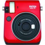 Cámara fujifilm instax mini 70 roja + carga 10 fotos gratis