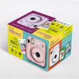 Kit cámara fujifilm instax mini 11 morada + carga 20 fotos+ postales