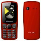 """Teléfono volfen a2 rojo pantalla 1.8"""" / cámara / radio FM / dual sim / micro sd /  ..."""