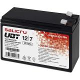 Batería agm salicru compatible para sais 7ah 12v