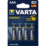 Blister varta 4 pilas alcalinas lr-03 aaa energy