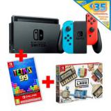 Consola nintendo switch nb / nr / 32GB / + cupon de 35 en nintendo eshop