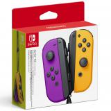 Accesorio nintendo switch - mando joy-con morado neon / naranja