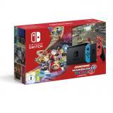 Consola nintendo switch mando color azul neon / rojo neon + codigo Mario kart 8 deluxe