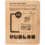 "Protector de pantalla silver ht para Samsung tab a 2019 10.1"" (t510 / t515) cristal templado blue light"
