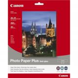 Papel canon foto sg-201 1686b018 8x10 / 20 hojas / semisatinado