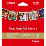Papel canon foto pp-201 2311b060 a4 13x13 / 20 hojas