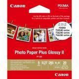Papel canon foto pp-201 2311b070 9x9 / 20 hojas