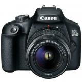 Cámara digital reflex canon eos 2000d + 18-55 / cmos / 24.1mp / digic 4+ / full HD / 9 puntos  ...