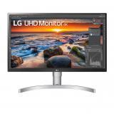 """Monitor led ips lg 27un83a-w 27"""" 3840 x 2160 5ms HDMI display port USB-c altavoces"""