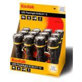 Expositor 12 linternas kodak led flashlight robust 15