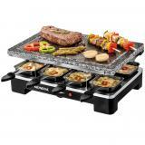 Plancha de piedra mondial le gourmet sg01 grill + raclette 1400w
