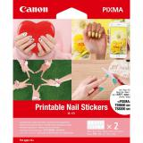 Pegatinas canon para uñas imprimible nl-101 3203c002 / 2 hojas