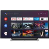 "TV toshiba 55"" led 4k uHD / 55ua3a63dg / android / WiFi / HDr10 /  HD dvb-t2 / c / s2 / bluetooth /  ..."