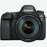 Cámara digital reflex canon eos 6d mark ii + 24-105stm / cmos / 26.2mp / digic 7 / 45 puntos de  ...