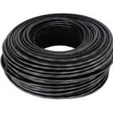 Cable utp cat 5+ especial exterior negro bobina 500m
