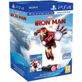 "Juego ps4 -  marvel""s ironman vr + 2 ps move"