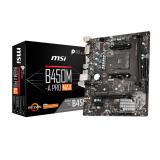 Placa base msi AMD b450m-a pro max socket am4 DDR4 x2 2667mhz max 32GB dvi-d HDMI mATX