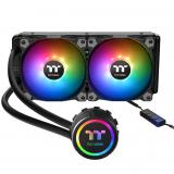 Kit refrigeración liquida <em>gaming</em> thermaltake water 3.0 240 arGB sync all in one doble  ...