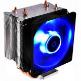 Ventilador disipador coolbox deep twister iii gaming led azul  para intel y AMD