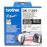Etiquetas papel precortada brother dk11204 17 x 54 mm