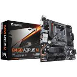 Placa base gigabyte am4  b450m aorus m-ATX / 4xDDR4 / 6xSATA3 / 2xUSB+1xUSB3.0 fp gab45arsm-00-g
