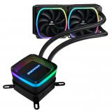 Kit refrigeración liquida enermax aquafusión 240mm <em>gaming</em> 2 x12cm