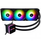 Ventilador gaming enermax elc-lmt360-arGB triple ventilador 12cm + refrigeración liquida