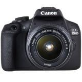 Cámara digital reflex canon eos 2000d + 18-55 is / cmos / 24.1mp / digic 4+ / full HD / 9 puntos de  ...