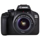 Cámara digital reflex canon eos 4000d + 18-55 dc / cmos / 18mp / digic 4+ / full HD / 9 puntos de  ...