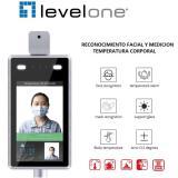 Cámara ip level one fcs-7703 con medición de temperatura y reconocimeinto facial full HD