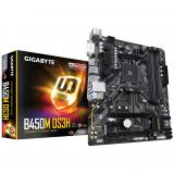 Placa base gigabyte AMD b450m ds3h DDR4x4 64GB dvi-d HDMI micro ATX