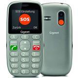 Teléfono movil gigaset gl390 gris para mayores