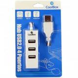 Hub coolbox 4 puertos USB 2.0