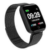 "Reloj innjoo sport watch negro metalico cuadrado / 1.33"" / 512kb rom / 64kb ram / bluetooth 4.0"
