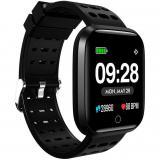 """Reloj innjoo sport watch negro cuadrado / 1.33"""" / 512kb rom / 64kb ram / bluetooth 4.0"""