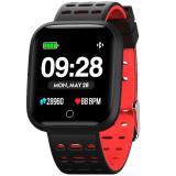 "Reloj innjoo sport watch rojo cuadrado / 1.33"" / 512kb rom / 64kb ram / bluetooth 4.0"