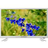 "TV schneider 23.6"" led HD blanco / HDMI / USB /"