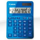 Calculadora canon sobremesa ls-123k azul
