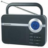 Radio digital schneider handy negro / alarma
